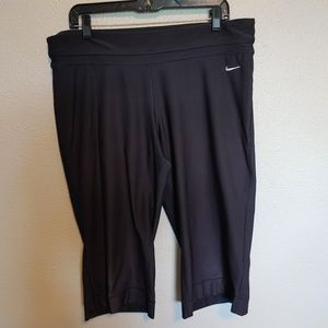 Nike Dry Fit Capri, black, XL